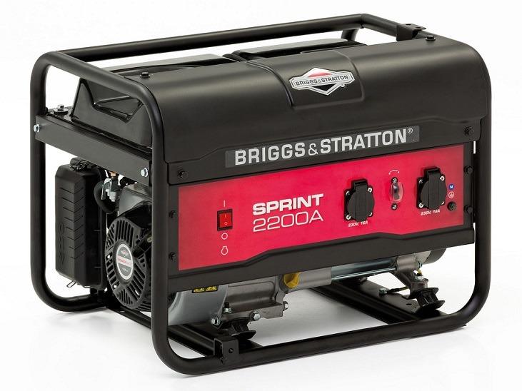 Ogromnie BRIGGS & STRATTON agregat prądotwórczy Sprint 2200A 1,7 kW 230V AR26